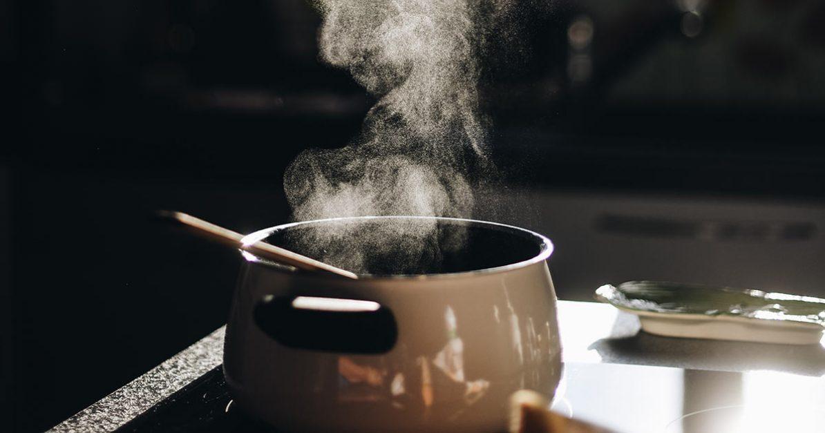 Beim Kochen redet es sich leichter